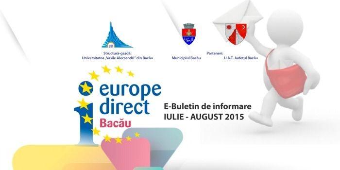 E-Buletin de informare 4/2015