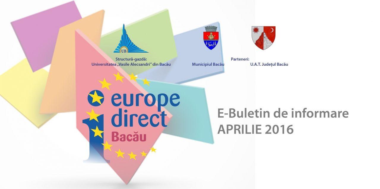 E-Buletin de informare 4/2016