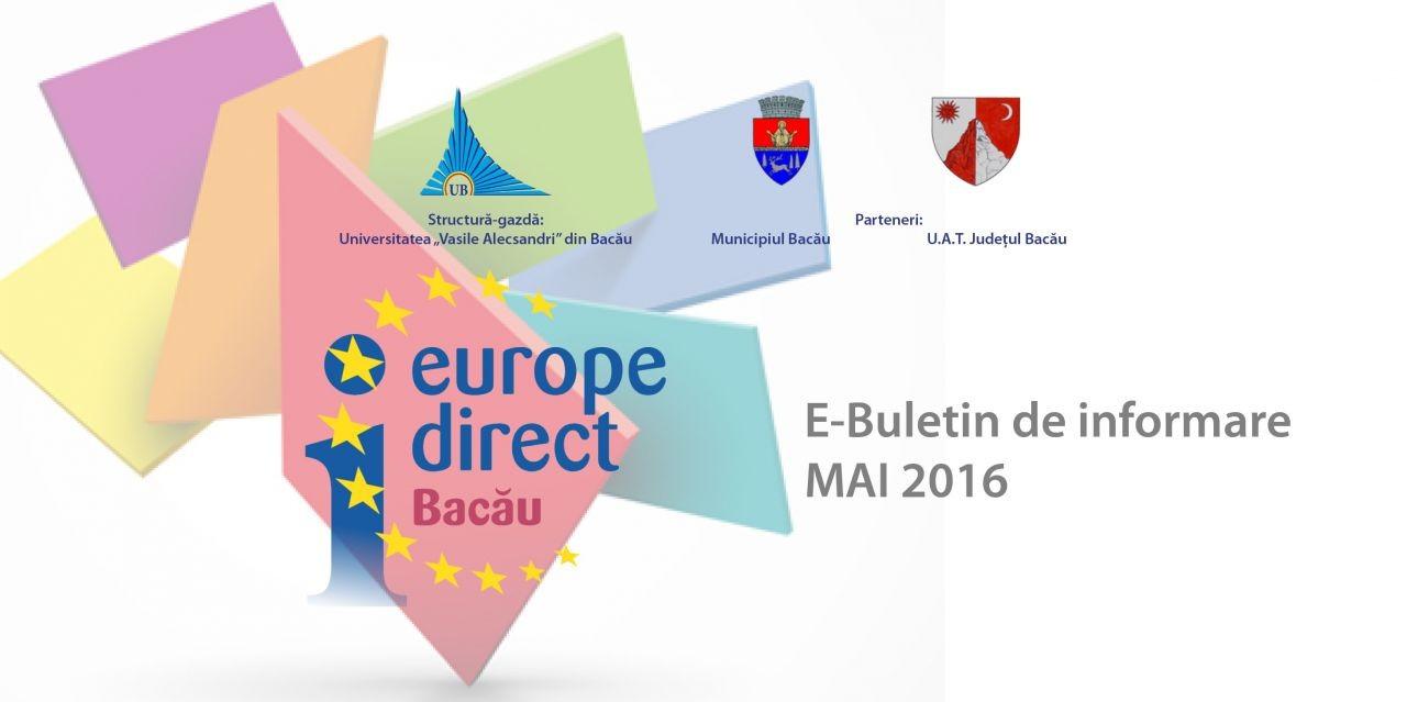 E-Buletin de informare 5/2016