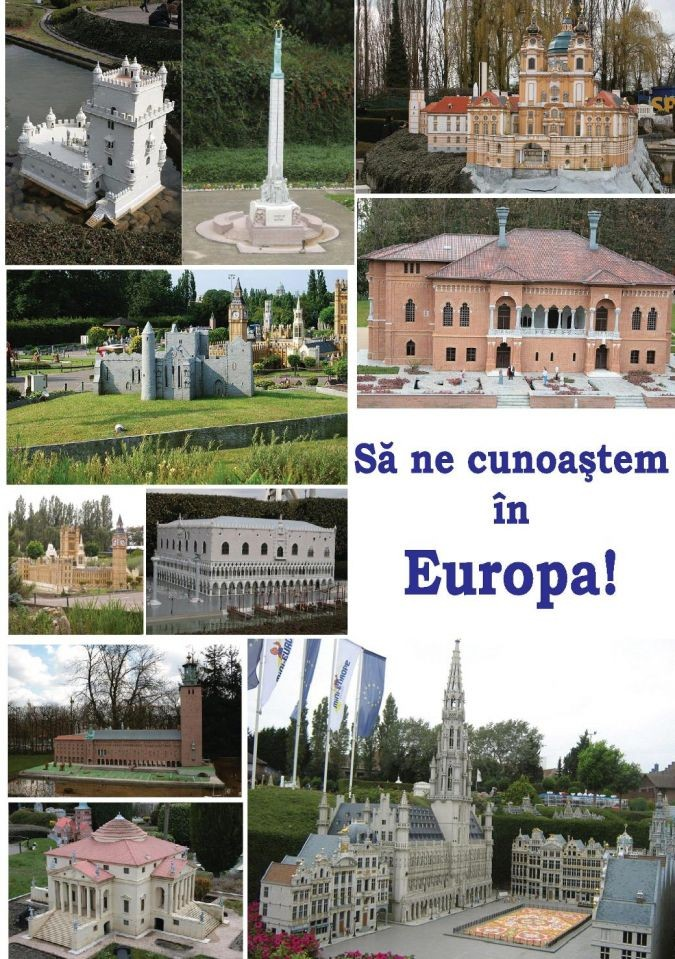 """Kit tematic """"Să ne cunoaștem în Europa"""" (2011)"""