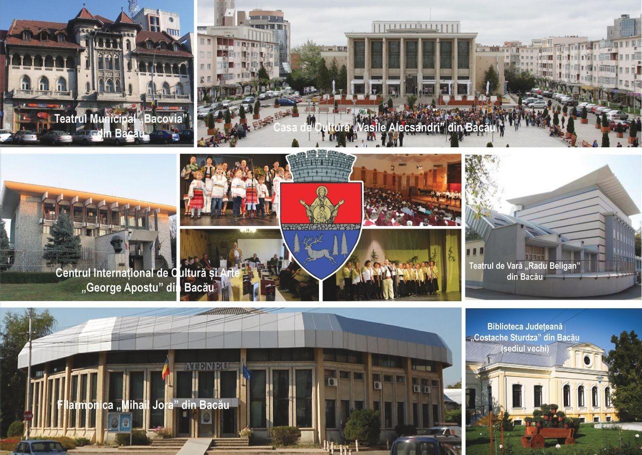 """""""Momente europene din orașul Bacău"""" (set vederi 2015)"""