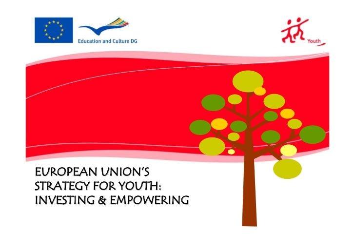 Evaluarea cooperării în domeniul politicii pentru tineret în UE
