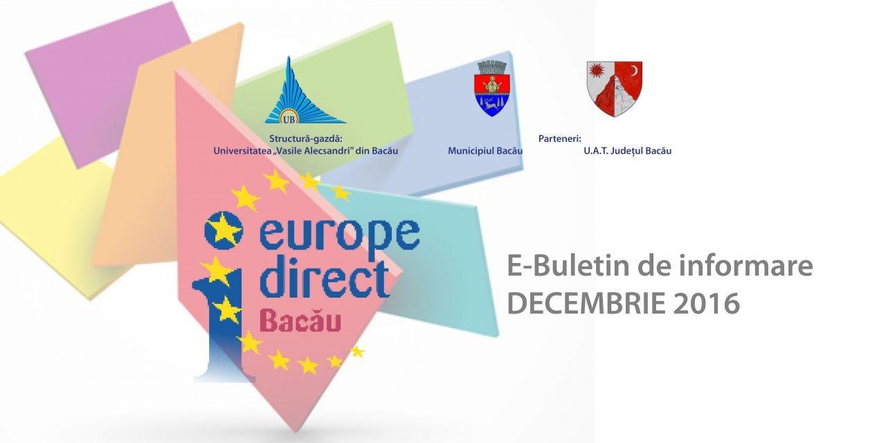 E-Buletin de informare 12/2016