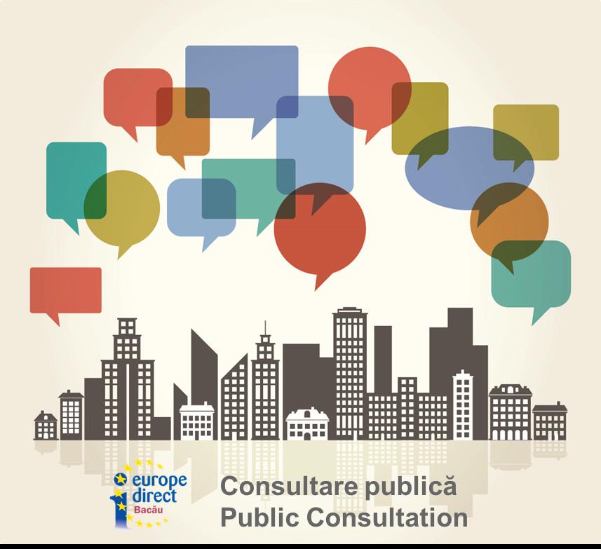 Consultare publică privind Corpul european de solidaritate