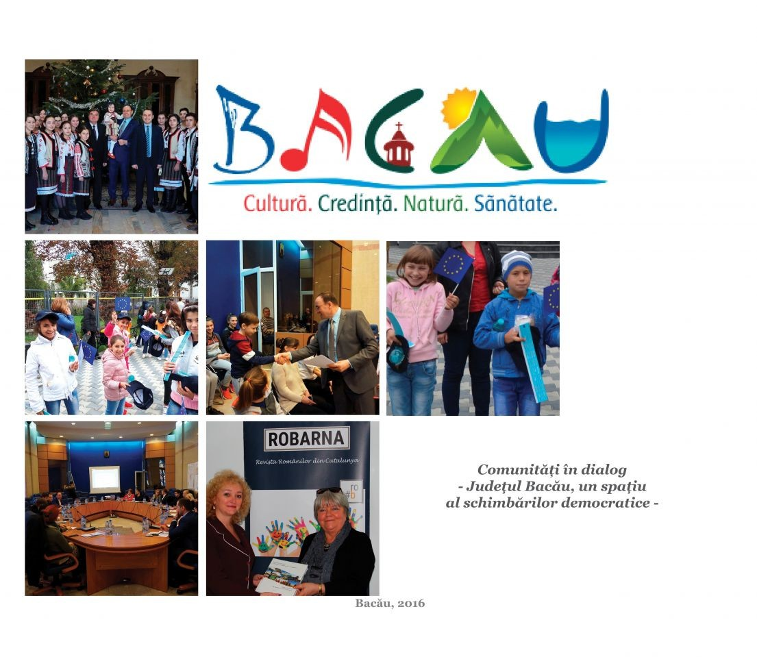 """Album """"Comunități în dialog – Bacău, un spațiu al schimbărilor democratice"""""""
