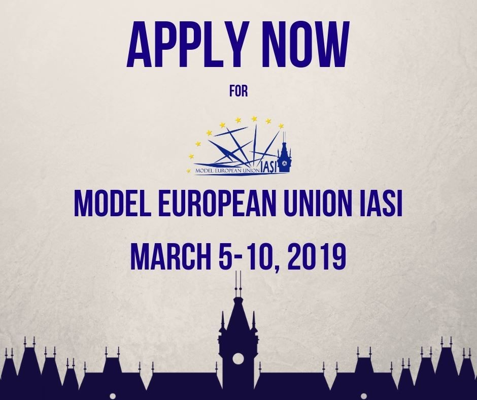 Aplică la Model European Union Iasi